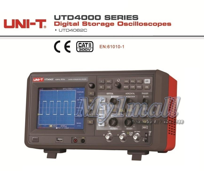 UNI-T UTD4062C BENCH DIGITAL STORAGE OSCILLOSCOPE