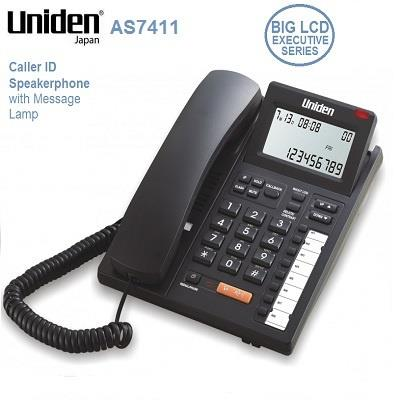 UNIDEN DISPLAY SPEAKER PHONE AS7411(BOX DAMAGE)