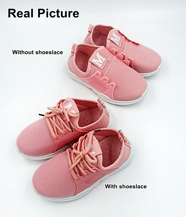 Unisex Sneaker Kids Shoes (Pink) 2009