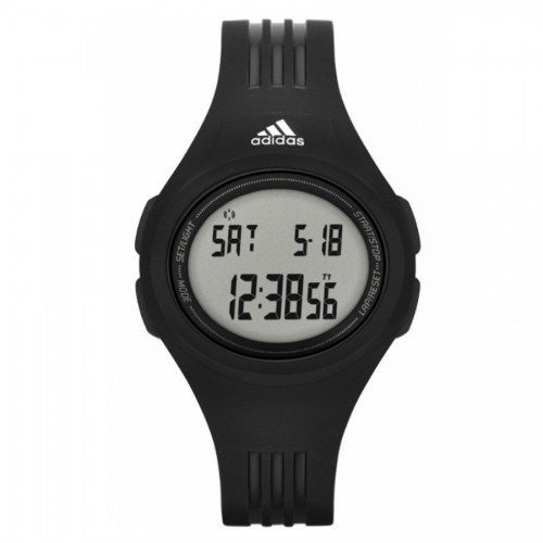 Unisex Uraha Black Digital Resin Watch