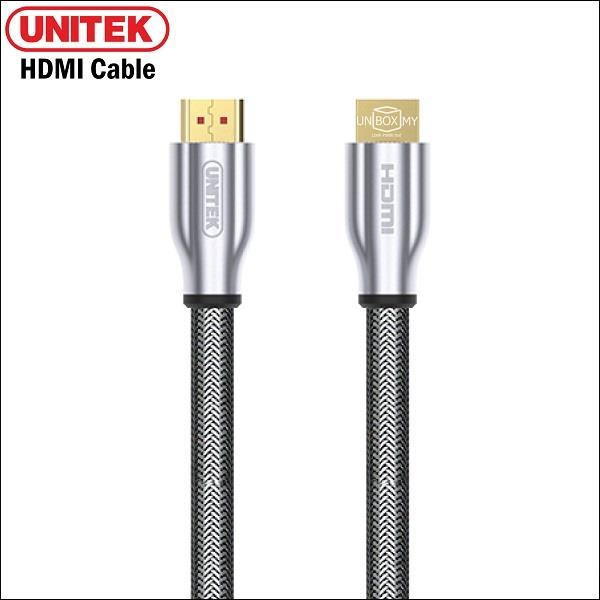 UNITEK 10M HDMI (M) to HDMI (M) v2.0 Cable with Ethernet