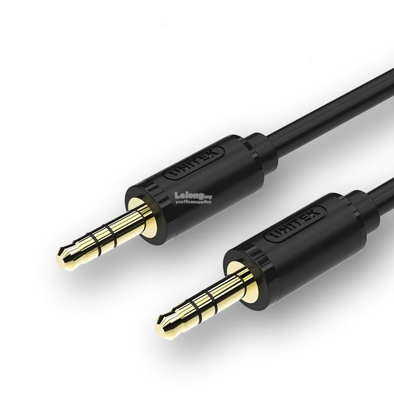 UNITEK  3M 3.5MM AUX Audio Male to Male Cable
