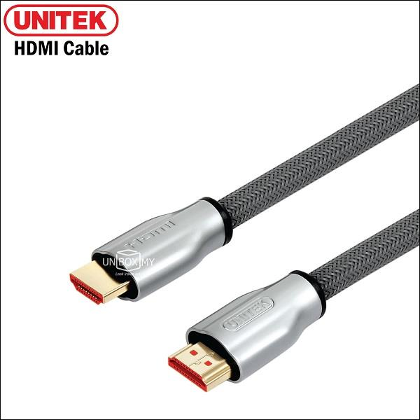 UNITEK 3M HDMI (M) to HDMI (M) v2.0 Cable with Ethernet