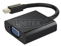 UNITEK DISPLAY PORT TO DVI F CONVERTER (Y-5118AA)