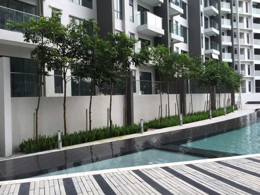 Univ 360 Condo for rent, Fully Furnished, Pool Level, Seri Kembangan