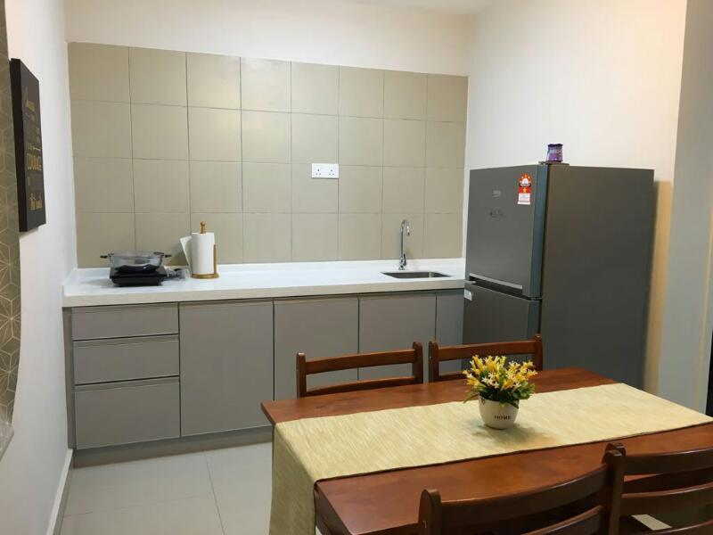 Univ 360 Condo for rent, Studio, Fully Furnished, Seri Kembangan, UPM