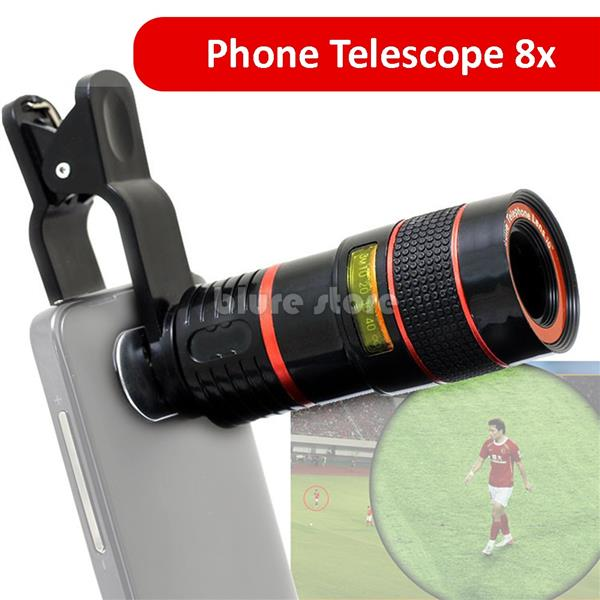 Universal 8X Optical Zoom Telescope Camera Lens for Mobile Phone