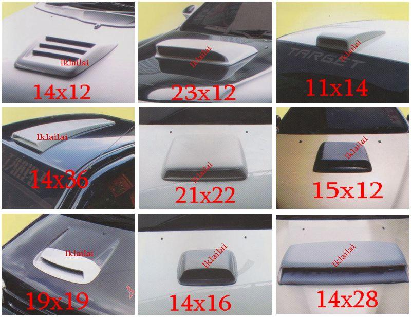 Universal Air Scoop / Bonnet Scoop