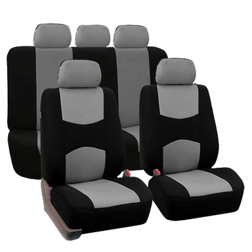 Universal Car Seat Cover 9pcs/ Set Full Seat Covers Front Rear