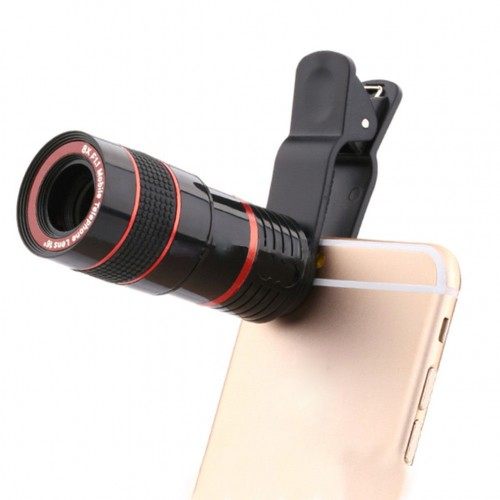lowest price 72bca 6157e Universal Clip-on 8x Zoom Camera Lens Telescope iPhone 6s plus 6