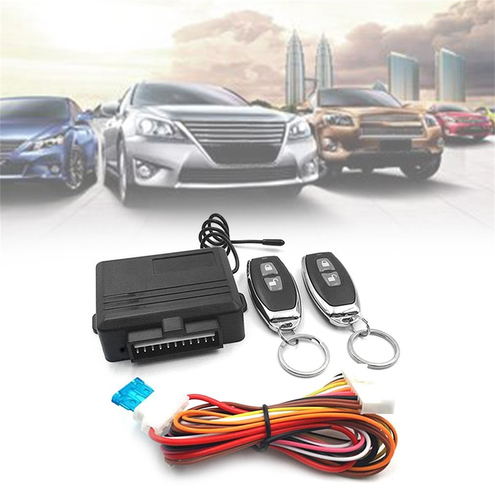 Universal Keyless Entry System Car Alarm Systems Device Auto Remote Co..