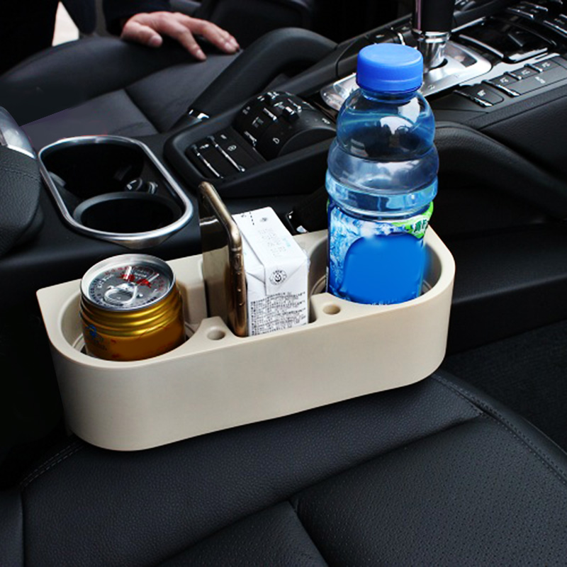 Universal Portable Car Seat Gap Drink Cup Holder Organizer