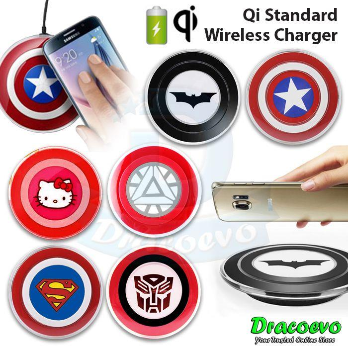 Universal Qi Wireless Charger iPhone 8 X Samsung S8 S9 Note 8