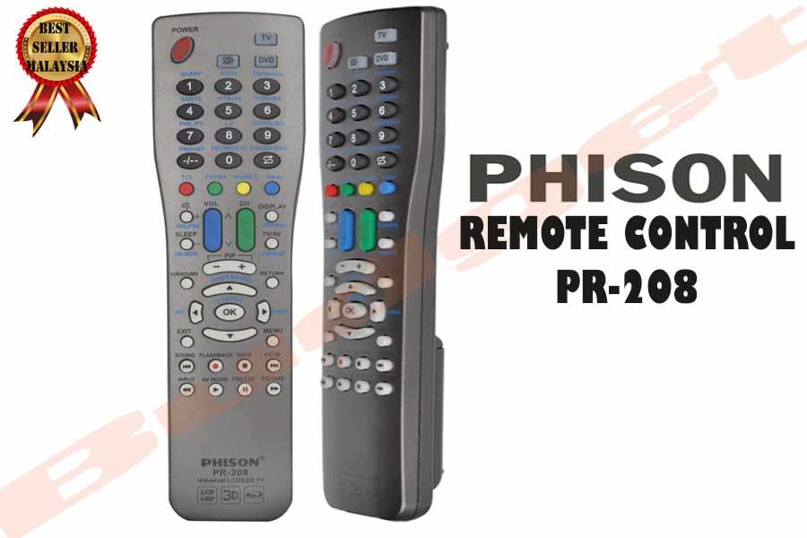 Best Universal Remote 2020.Universal Remote Control Phison Pr 208 For Lcd Led Tv