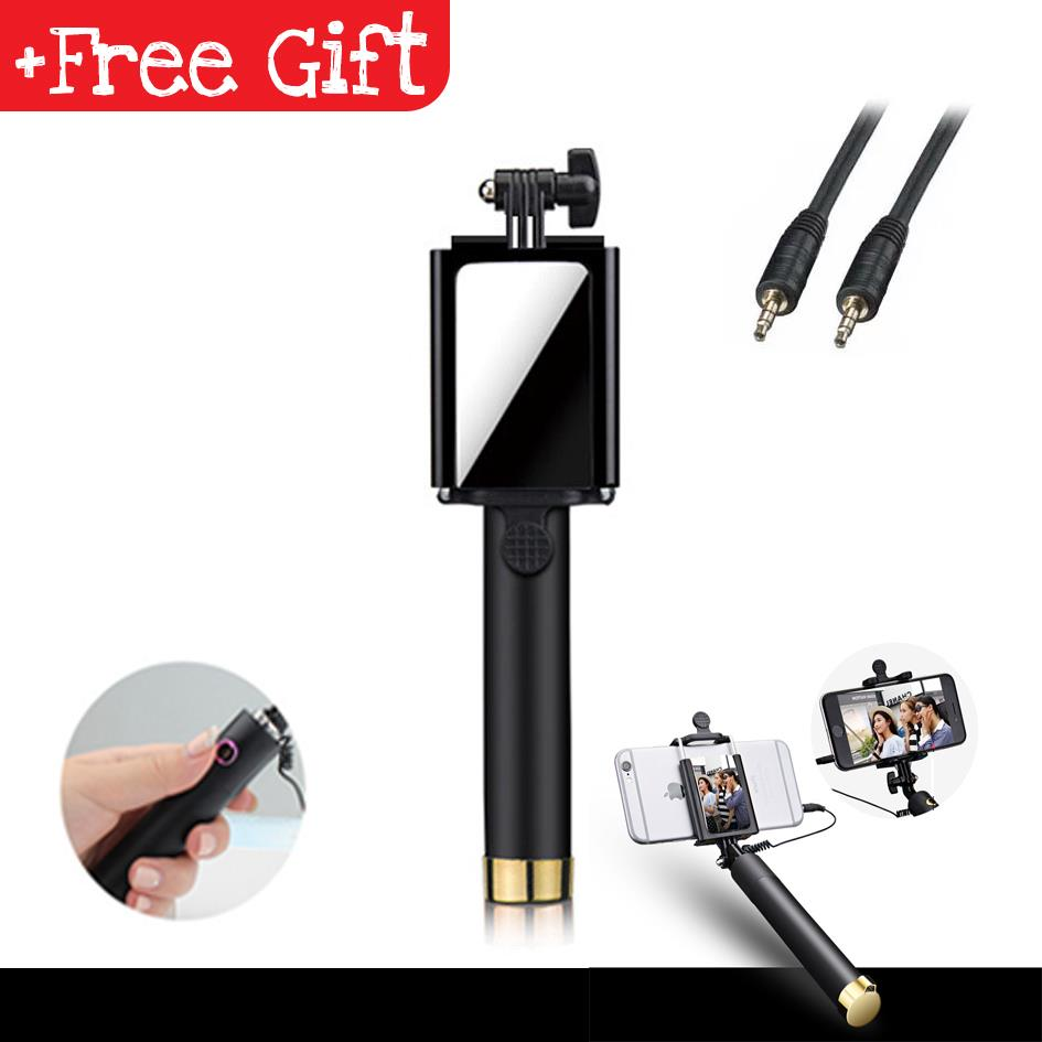 242e804831b5a6 Universal Selfie Stick Mirror Monopod GoPro Action Camera Phone Holder. ‹ ›