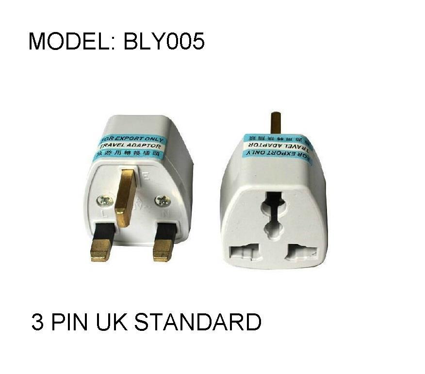 Universal Socket Plug Converter Adapter Travel Adaptor UK China