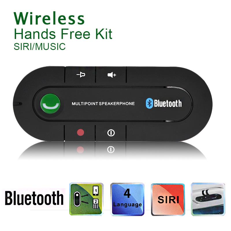 Universal Speakerphone Bluetooth v4.1 Handsfree Car Kit MP3 Music