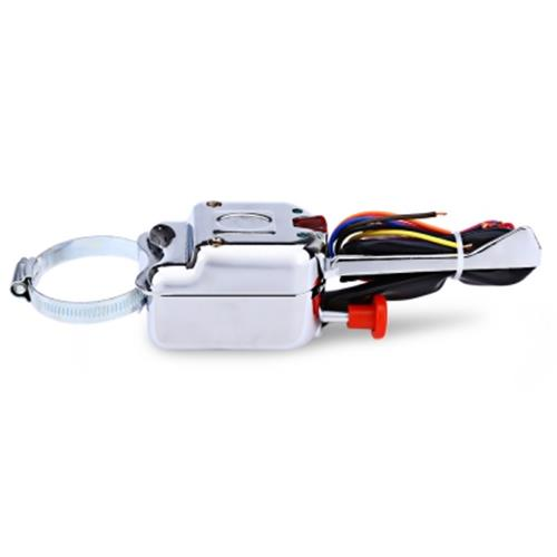 UNIVERSAL STREET HOT ROD TURN SIGNAL CHROME SWITCH FOR FORD / BUICK