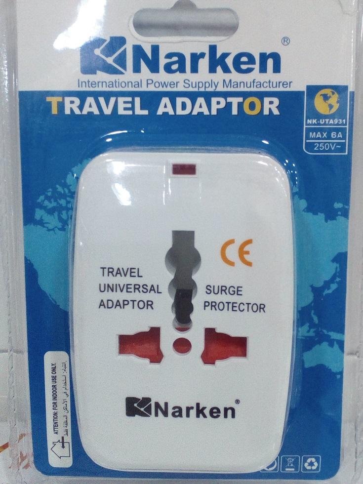 UNIVERSAL TRAVEL ADAPTOR with USB Port