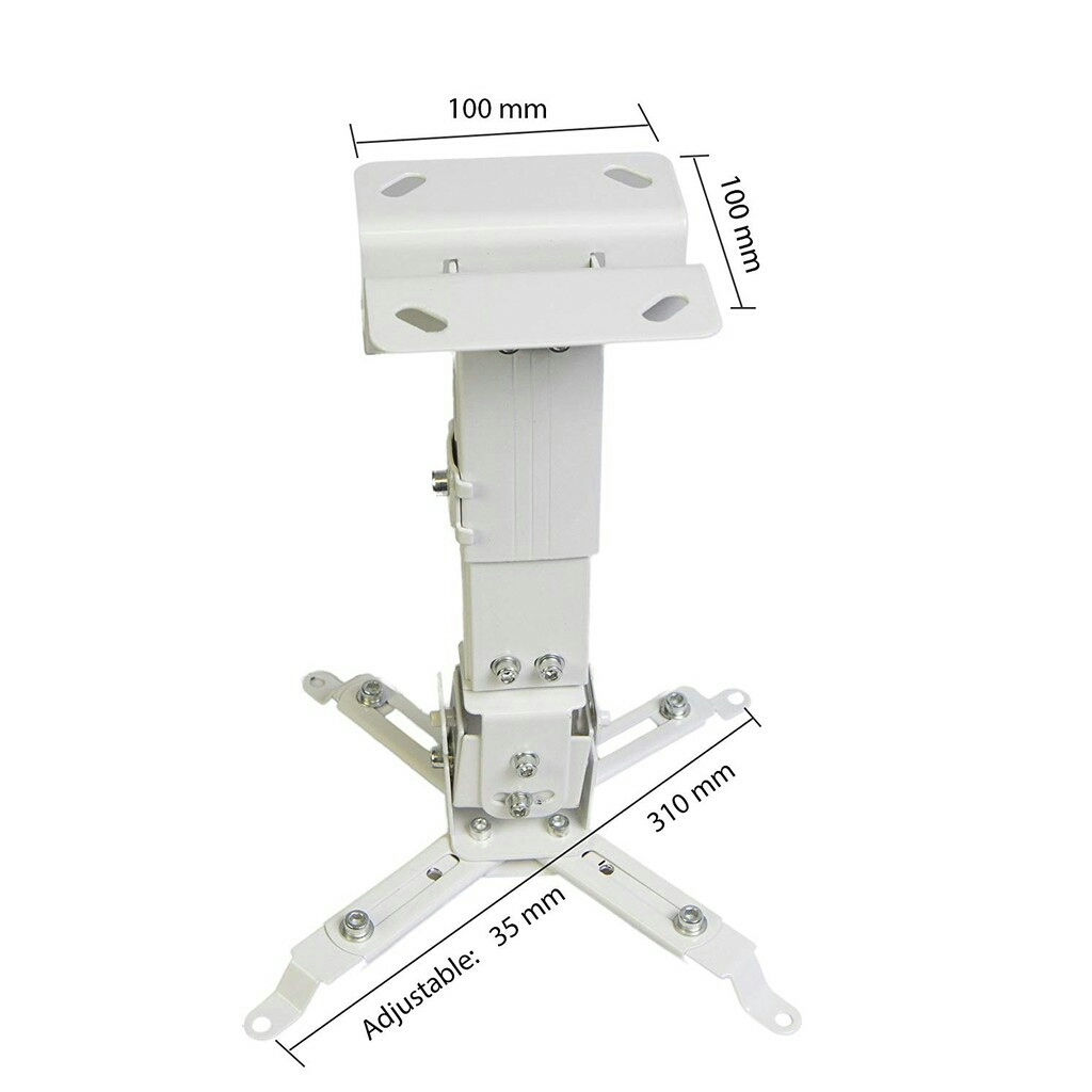 UNIVERSAL WALL / CEILING ALUMINIUM PROJECTOR MOUNTING BRACKET KIT