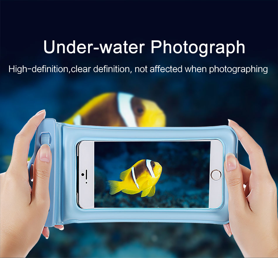 Universal Waterproof Case Pouch bubble float bag 6 inches phone case f
