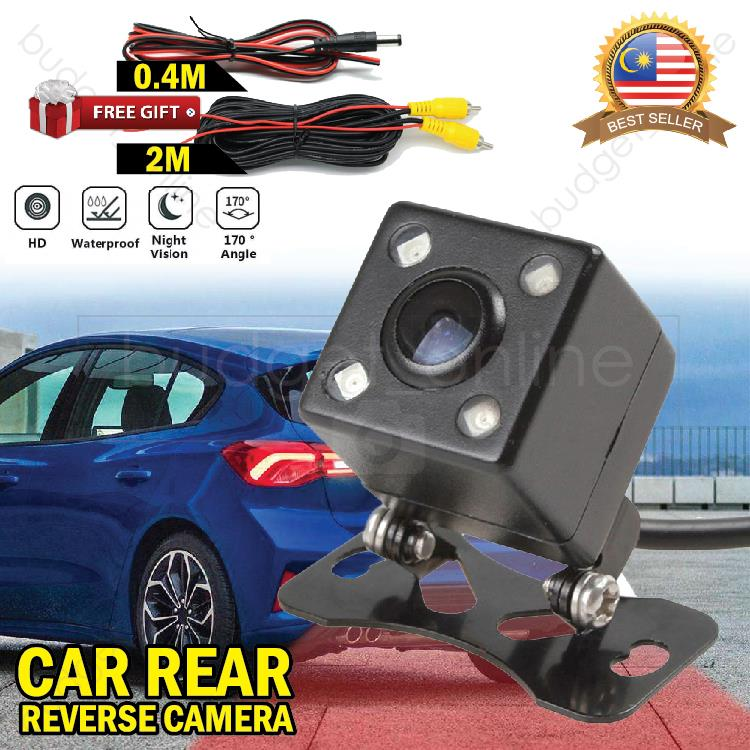 Universal Waterproof Rear View Camera Night Vision Reverse Parking