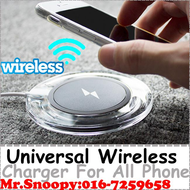 Universal Wireless Qi Phone Charger,With Wireless Charging Receiver