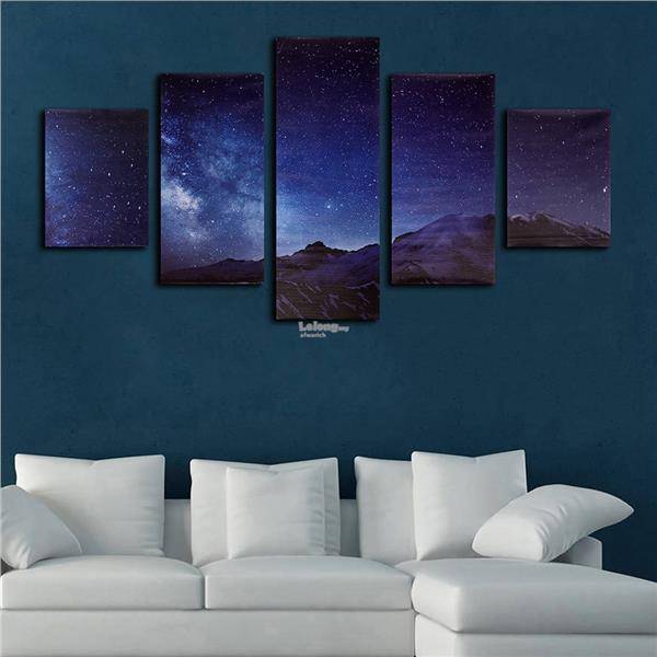Universe Earth Modern Canvas Home Wall Decor Art Painting Picture Prin