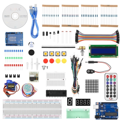 UNO R3 Starter Kit for Arduino Beginner