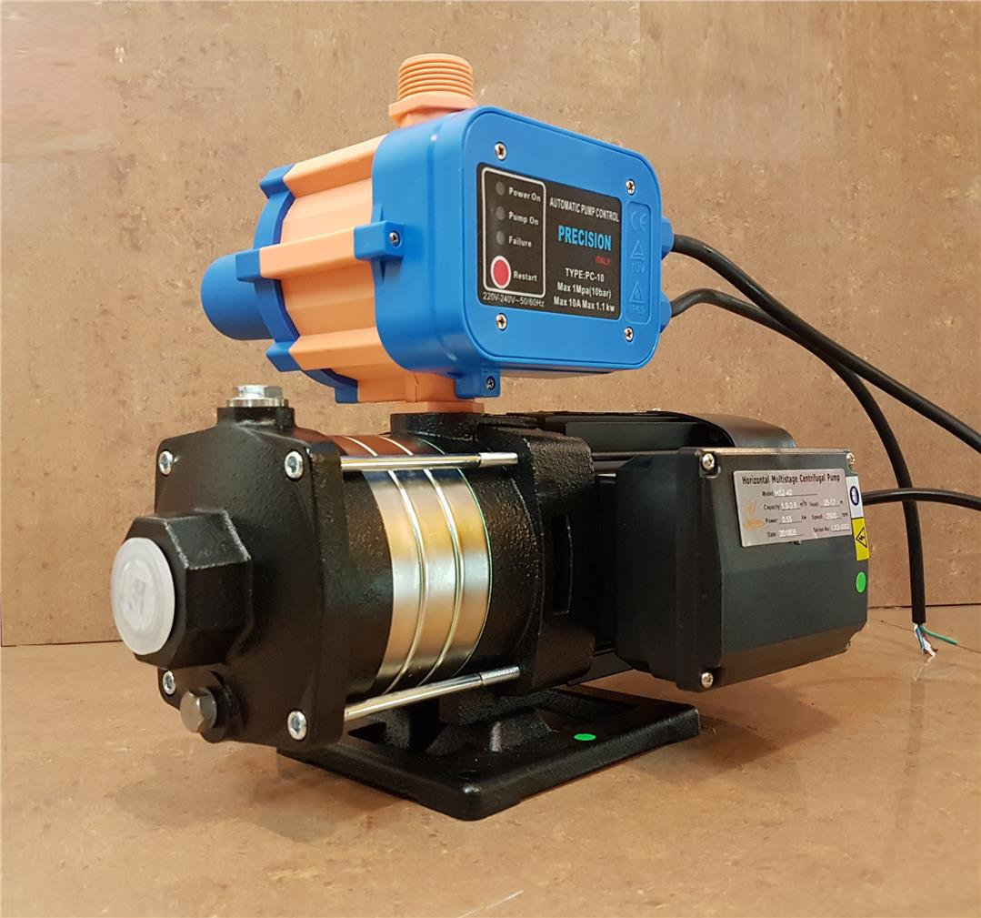 UnoFlow HS2-40 0.75HP Automatic Multi-Stage Centrifugal Pump ID30432