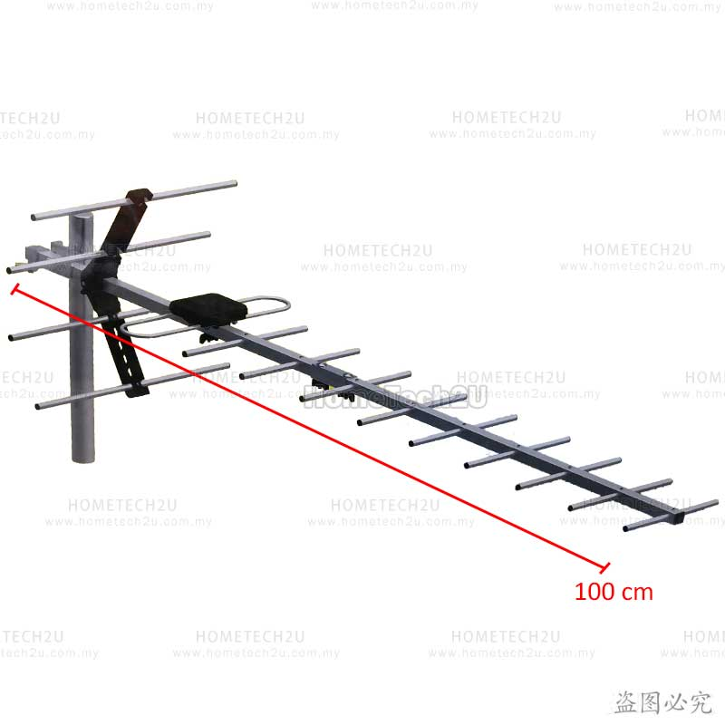 [NEW Upgrade] V-tex High Gain UHF MYTV Digital Outdoor TV Antenna Aeri