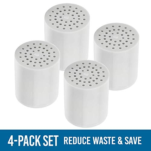 ~ [Upgraded] 15 Stage Universal Shower Water Filter Cartridges (4 Pack) Remove