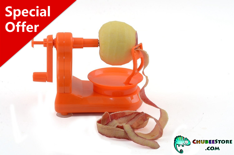Upgraded apple pear potato fruit skin peeler/remover/skinner/parer
