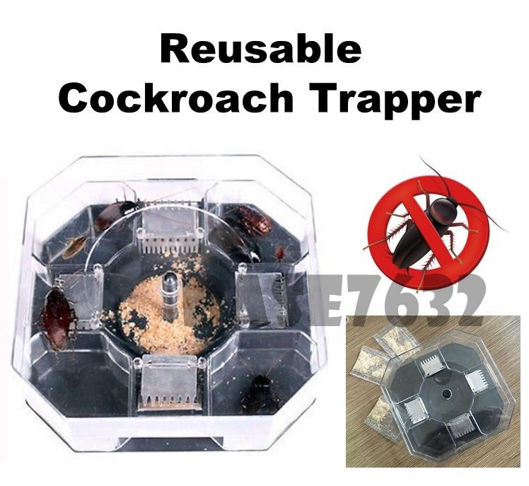 Upgraded Reusable  Cockroach Trapper Trap Catcher Repeller Killer Bait