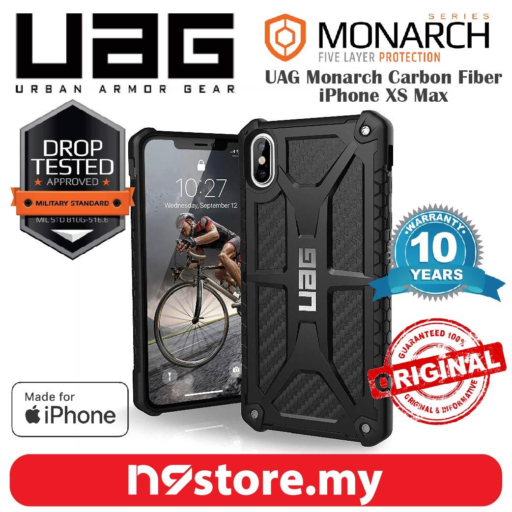 cheap for discount 5e0b3 63617 Urban Armor Gear Monarch Case For iPhone XS Max - Carbon Fiber
