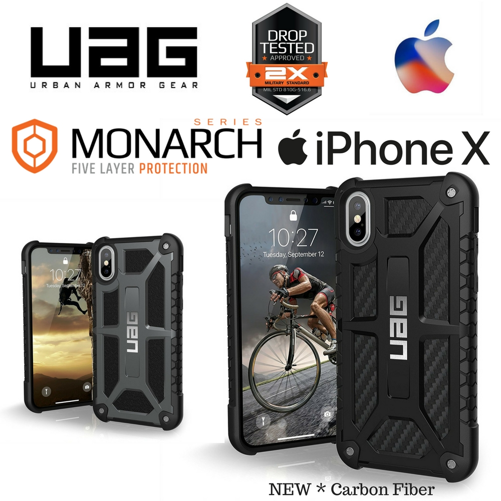 new products 08a21 19a73 Urban Armor Gear UAG Monarch case for iPhone X