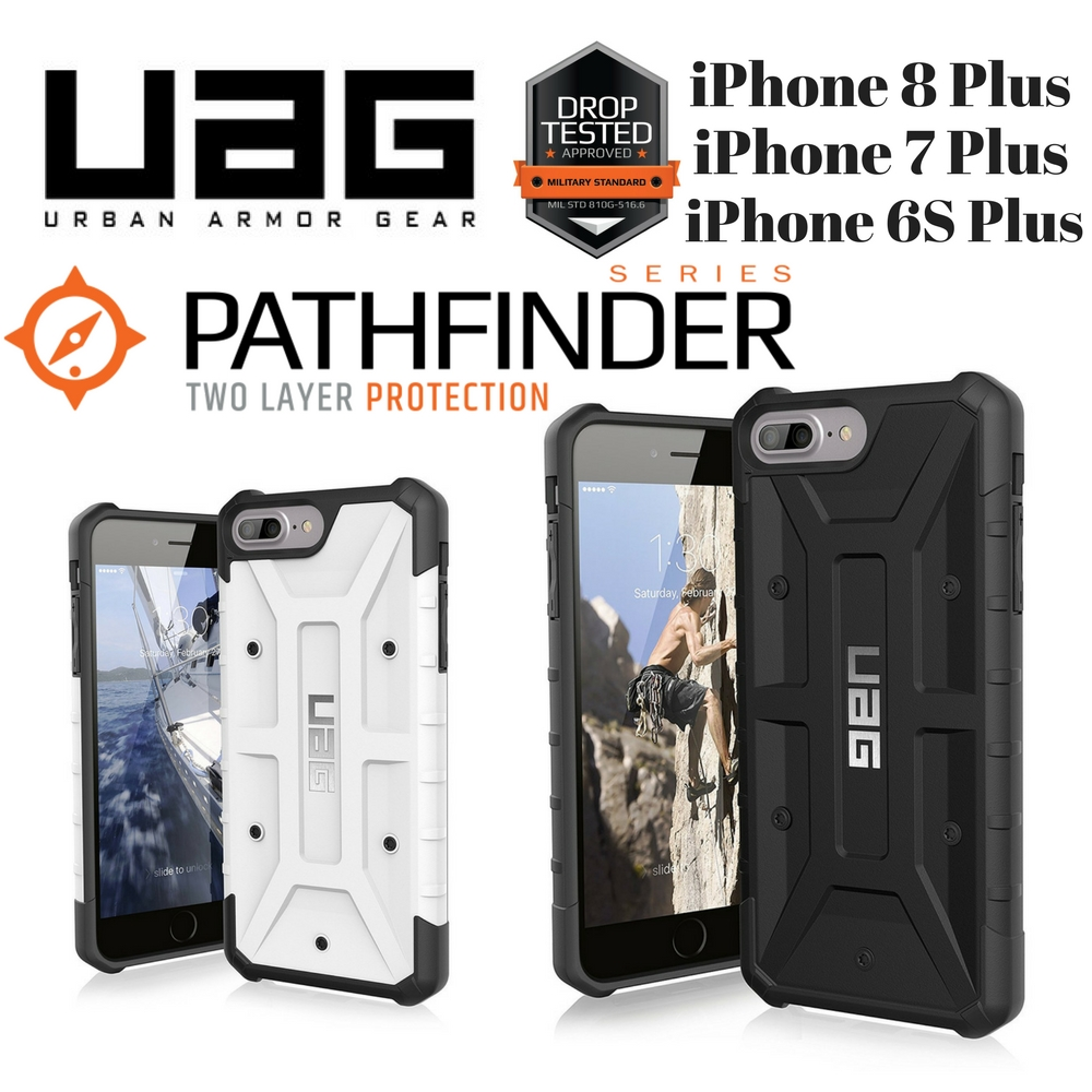 reputable site 85eaa 7948b Urban Armor Gear UAG Pathfinder case for iPhone 8 Plus / 7 Plus / 6S Plus