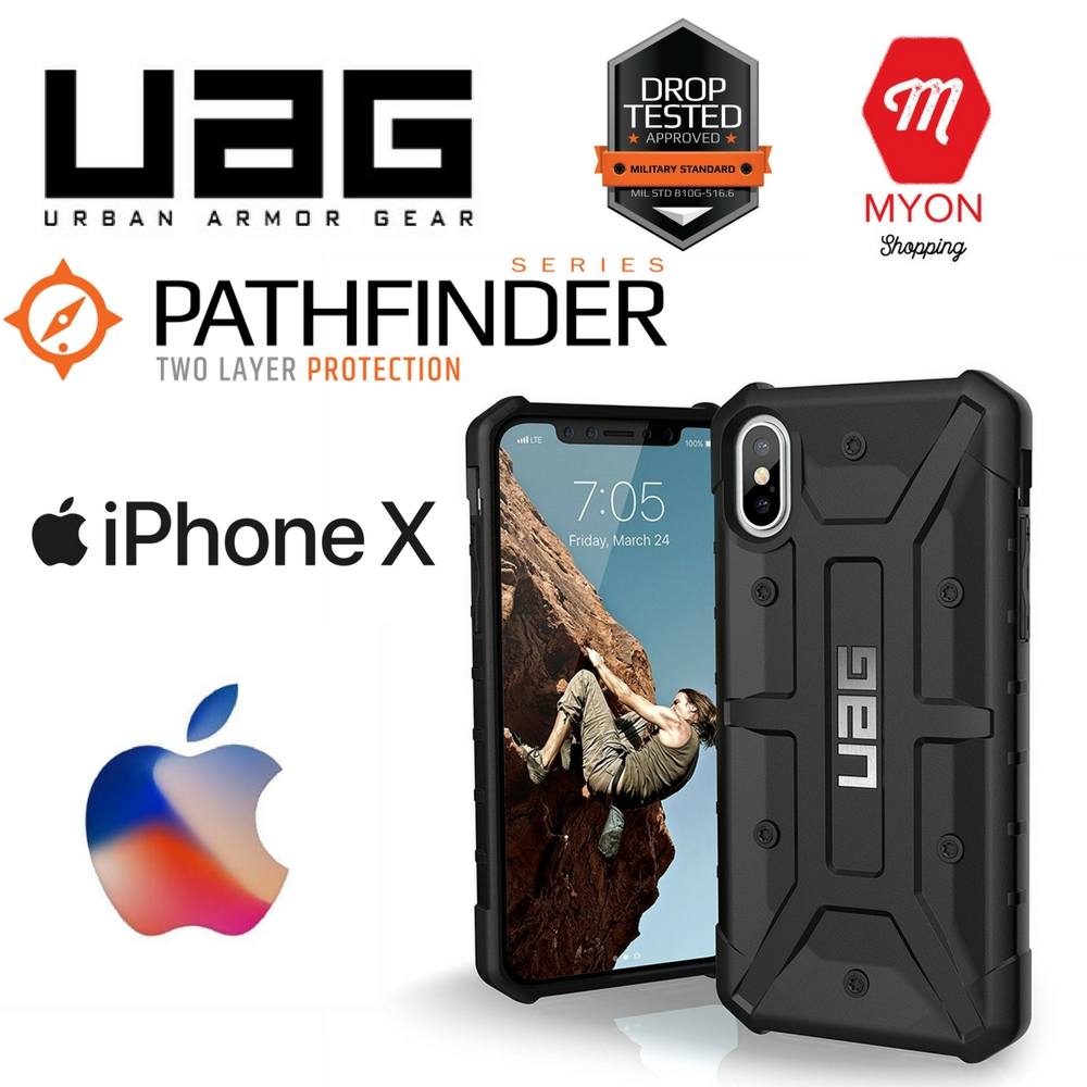 best loved fa4a9 b00d5 Urban Armor Gear UAG Pathfinder case for iPhone X
