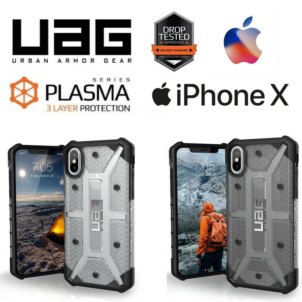 meet 061a7 4e5d0 Urban Armor Gear UAG Plasma case for iPhone X