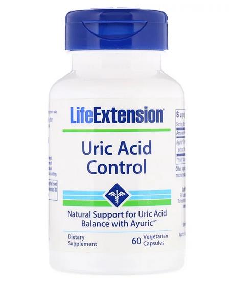 Uric Acid Control, 60 Vegetarian Caps (Joint pain, Gout) Ready Stocks
