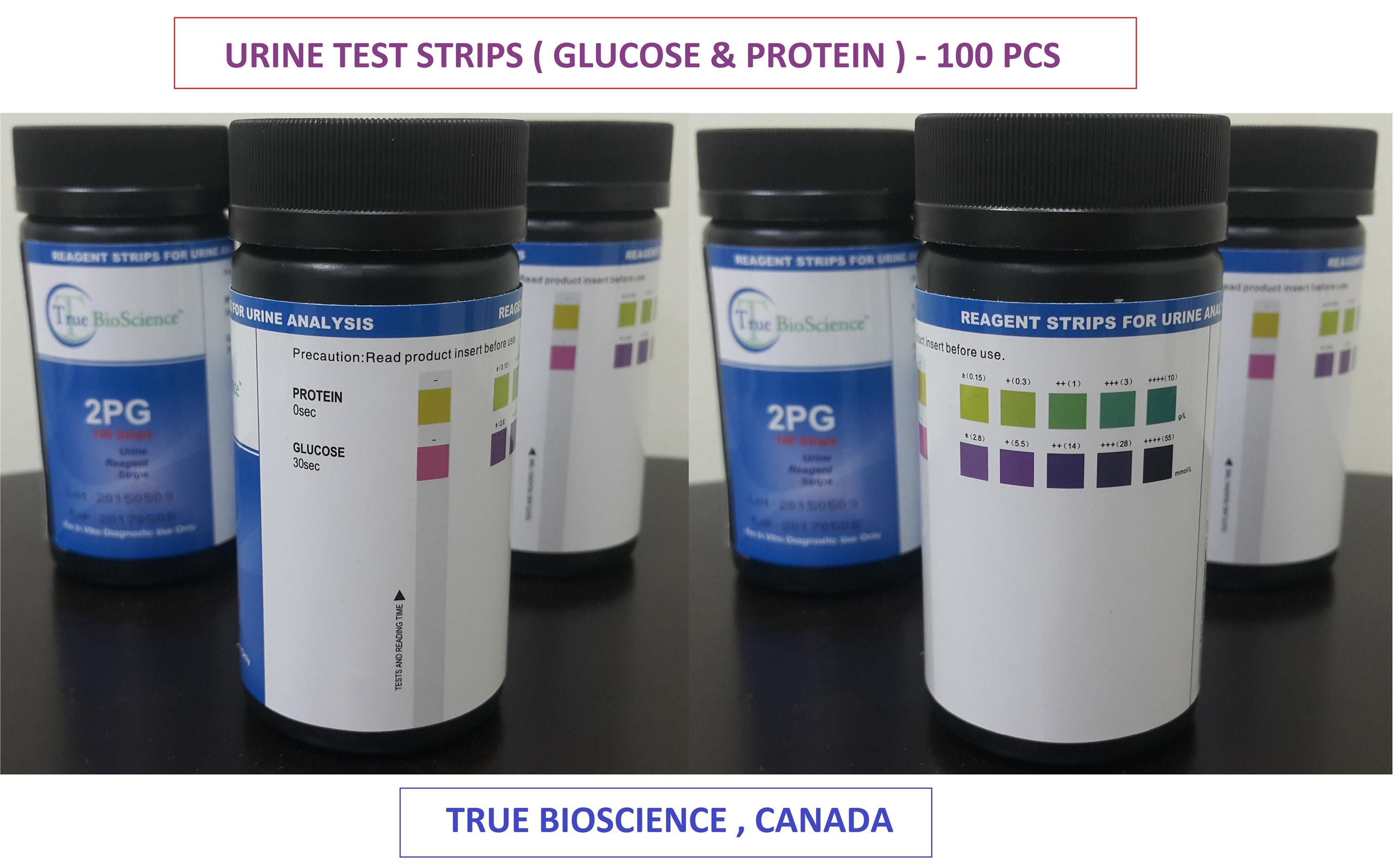 Urine test strips glucose protei end 1 11 2019 6 15 pm for Table 6 simulated urine protein test