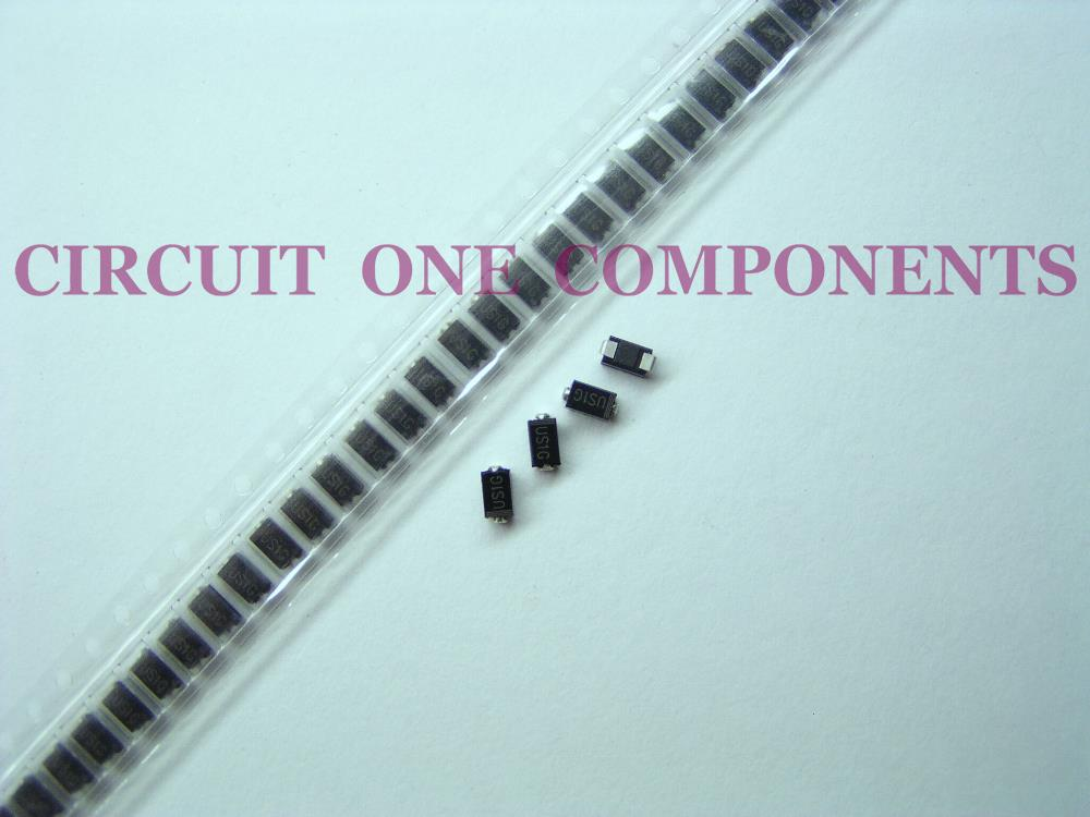 US1G SMA Fast Recovery Diode 1A 400v UF4004 - 10pcs / Lot