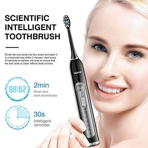 [From USA] 2 Sonic Electric Toothbrushes, 5 Modes 2 Brush heads, Last 45 Days