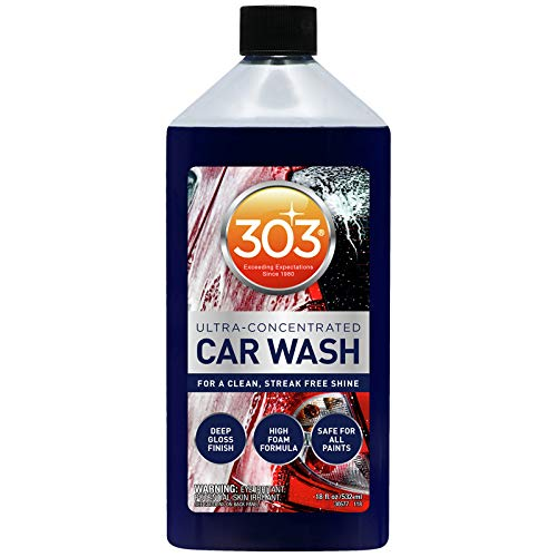 [From USA]303 Products 30577 Car Wash with Mitt 18oz Bubble Gum Scent