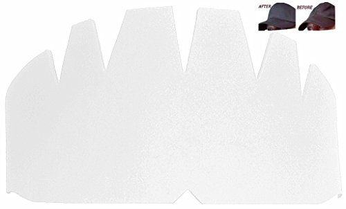 (FROM USA) 3Pk. White Baseball Caps Crown Inserts| Hat Shaper| Flex Fit Hat Cr