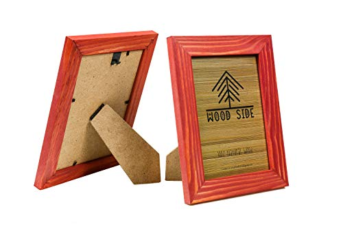 (FROM USA) 8.5 x 11 Wooden Rustic Picture Frames - Set of 2 for Diploma Docume