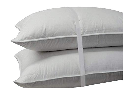 [From USA]Abripedic Soft Goose Down Pillow - 600 Thread Count 100% Cotton Shel