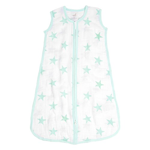 100/% Cotton Muslin Wearable Baby Blanket .. aden anais Classic Sleeping Bag