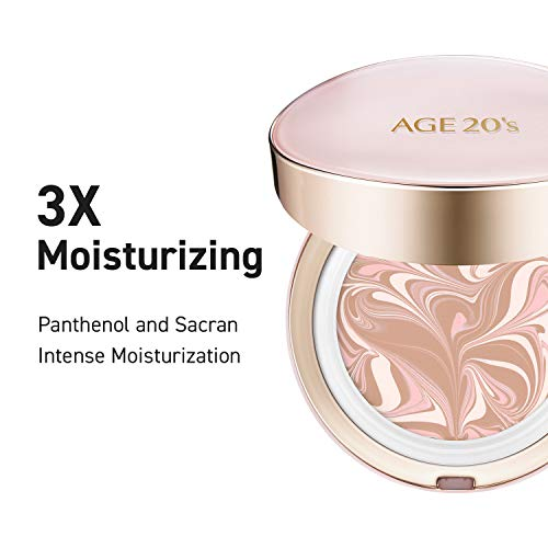 [From USA] AGE 20's Signature Essence Moisture To Go Foundation Cushion Pact