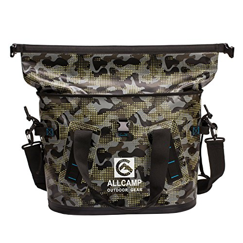 (FROM USA) ALLCAMP OUTDOOR GEAR Hopper Portable Cooler Bag 25L with 5 ice Pack